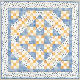 Martingale - Nine-Patch Star Quilt ePattern