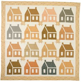 Martingale - Starlit Faded Homesteads Quilt ePattern