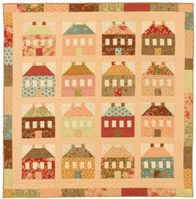 Martingale - My Cotswold Cottages Quilt ePattern