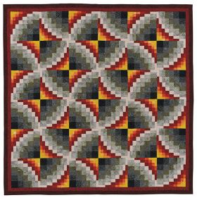 Martingale - Strip-Pieced Bargello (Print version + eBook bundle)