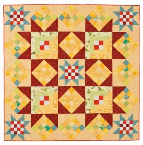 Martingale - Strawberry Lemonade Quilt ePattern
