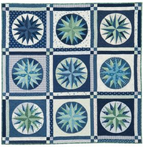 Martingale - Mariner's Compass Quilt ePattern