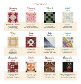Martingale - 2022 That Patchwork Place Quilt Calendar