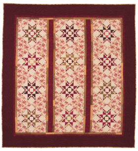 Martingale - Autumn Feathered Star Quilt ePattern