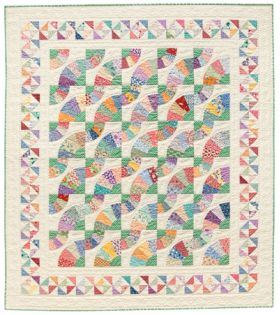 Martingale - Whirling Fans Quilt ePattern