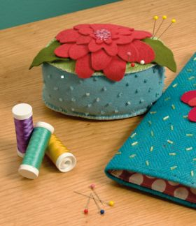 Martingale - Zinnia Pincushion ePattern