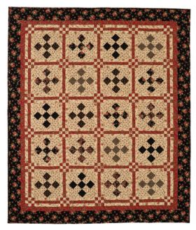 Martingale - Tanners Nine Patch Quilt ePattern