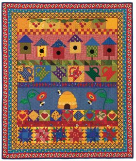 Martingale - Walk in Provence Quilt ePattern