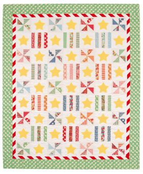 Martingale - Summer Spinners Quilt ePattern