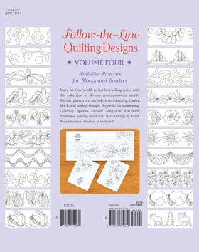 Martingale - Follow-the-Line Quilting Designs Volume 4