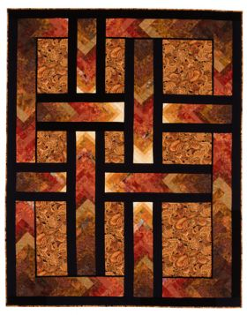 Martingale - Autumn Paths Quilt ePattern