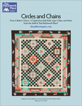 Martingale - Circles and Chains Quilt ePattern