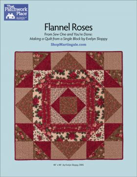 Martingale - Flannel Roses Quilt ePattern