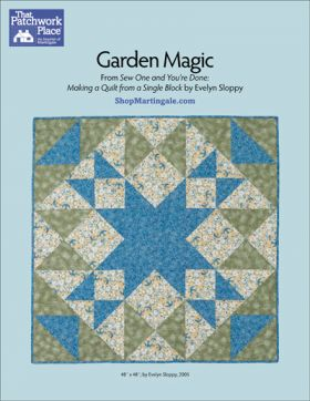Martingale - Garden Magic Quilt ePattern