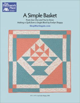Martingale - A Simple Basket Quilt ePattern