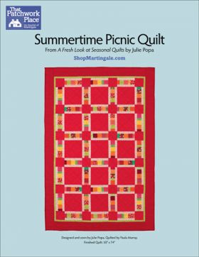 Martingale - Summertime Picnic Quilt ePattern