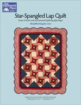 Martingale - Star-Spangled Lap Quilt ePattern