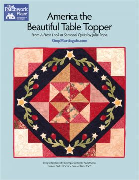 Martingale - America the Beautiful Table Topper ePattern