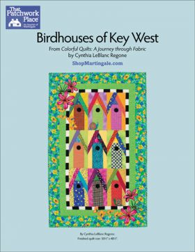 Martingale - Birdhouses of Key West Quilt ePattern