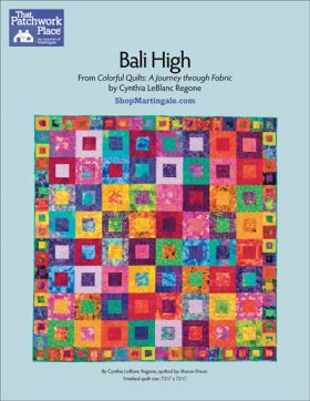 Martingale - Bali High Quilt ePattern