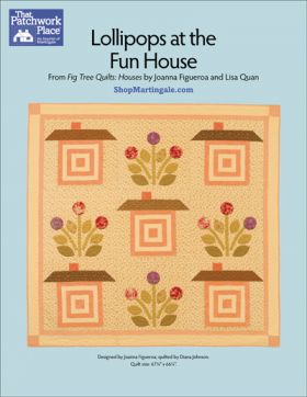 Martingale - Lollipops at the Fun House Quilt ePattern