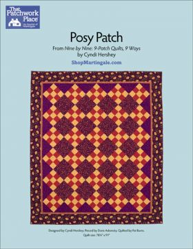 Martingale - Posy Patch Quilt ePattern