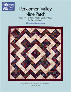 Martingale - Perkiomen Valley Nine Patch Quilt ePattern