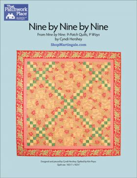 Martingale - Nine by Nine by Nine Quilt ePattern