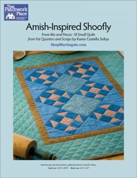 Martingale - Amish-Inspired Shoofly Quilt ePattern