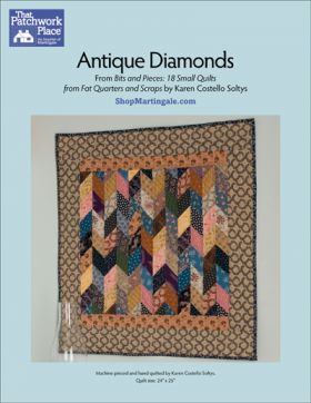 Martingale - Antique Diamonds Quilt ePattern