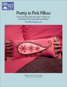 Martingale - Pretty in Pink Pillow ePattern