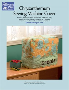 Martingale - Chrysanthemum Sewing Machine Cover ePattern
