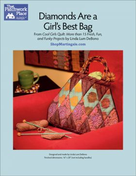 Martingale - Diamonds are a Girl's Best Bag ePattern
