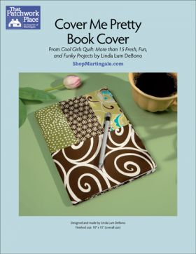 Martingale - Cover Me Pretty Book Cover ePattern