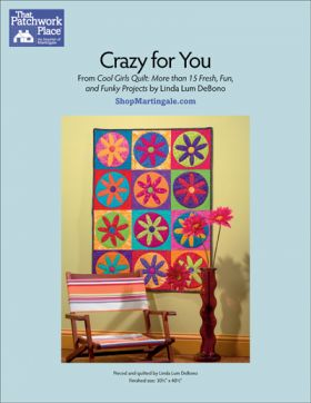 Martingale - Crazy for You Quilt ePattern