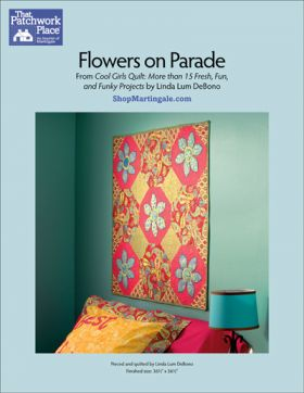 Martingale - Flowers on Parade Quilt ePattern