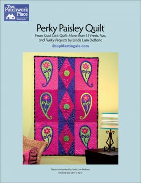 Martingale - Perky Paisley Quilt ePattern