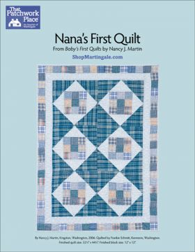 Martingale - Nana's First Quilt ePattern
