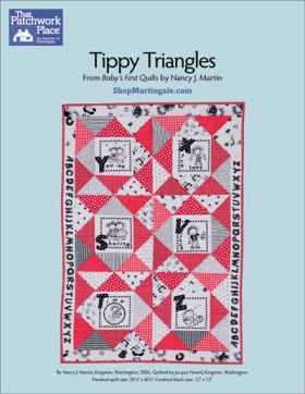 Martingale - Tippy Triangles Quilt ePattern