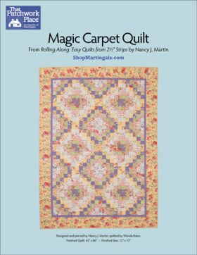 Martingale - Magic Carpet Quilt ePattern