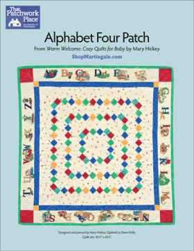 Martingale - Alphabet Four Patch Quilt ePattern