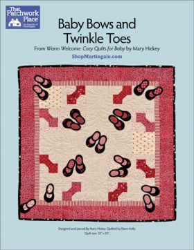 Martingale - Baby Bows and Twinkle Toes Quilt ePattern