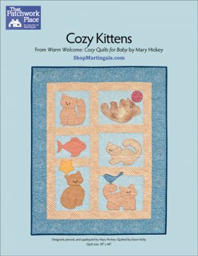 Martingale - Cozy Kittens Quilt ePattern