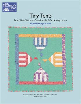 Martingale - Tiny Tents Quilt ePattern