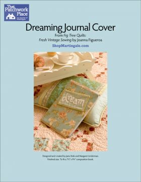 Martingale - Dreaming Journal Cover ePattern