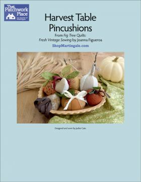 Martingale - Harvest Table Pincushions ePattern