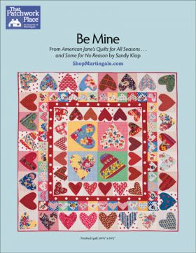Martingale - Be Mine Quilt ePattern
