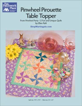 Martingale - Pinwheel Pirouette Table Topper ePattern