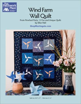 Martingale - Wind Farm Wall Quilt ePattern
