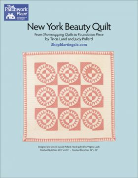 Martingale - New York Beauty Quilt ePattern